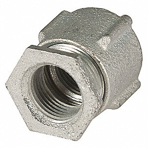 "2"" Threaded IMC, Rigid Coupling, Three-piece, 2-13/32"" Overall Length"