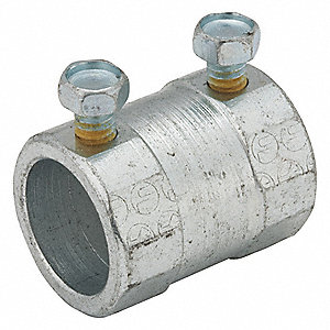 "Set Screw Coupling,1-1/4"" Conduit"