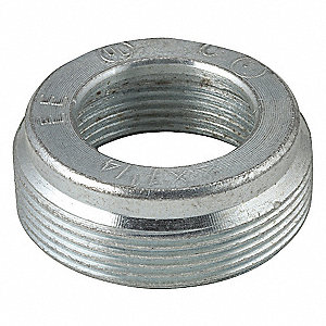 "Reducing Bushing,1-1/2"" to 3/4"" Conduit"