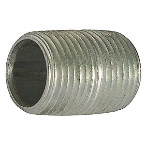 Rigid Conduit Nipple,1 In x 6,Al