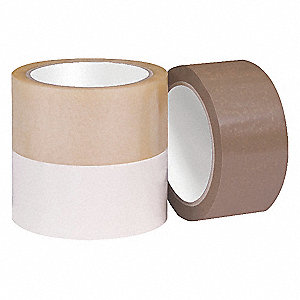 UPVC Carton Sealing Tape, Rubber Adhesive, 48mm X 50m, 36 PK