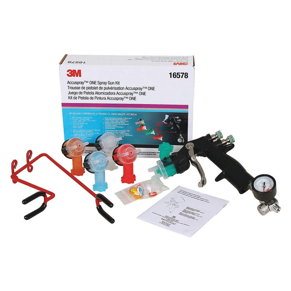 3m 13 Cfm 20 Psi Hvlp Spray Gun For Use With 3m Pps System 52cc94 16578 Grainger