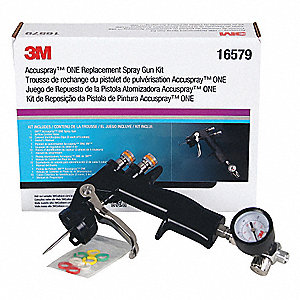 "HVLP Spray Gun, 1/4"" Air Inlet"