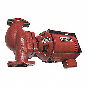 1/6 HP Cast Iron 3-Piece Maintenance Free Hot Water Circulating Pump
