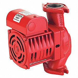 1/6 HP Cast Iron In Line Centrifugal Hot Water Circulating Pump