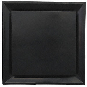 "Ceiling Diffuser,Black,6-1/4"" Depth"