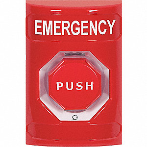 Emergency Push Button,Red Button,SPDT