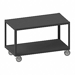 "Fixed Height Work Table, 30"" Depth, 30-1/4"" Height, 60"" Width,1200 lb. Load Capacity"