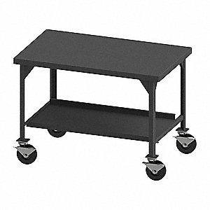 "Fixed Height Work Table, 36"" Depth, 43"" Height, 60"" Width,5600 lb. Load Capacity"