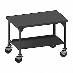 "Fixed Height Work Table, 36"" Depth, 43"" Height, 72"" Width,5600 lb. Load Capacity"
