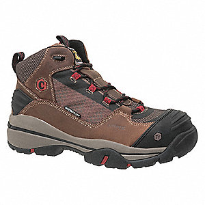 Hiking Boots,Size 11-1/2,D W,Tan,PR
