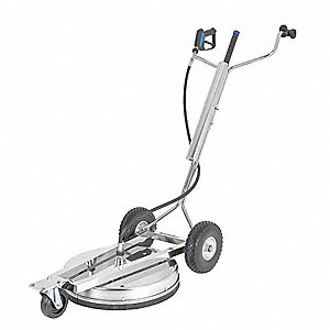"Rotary Surface Cleaner with Handles, 21"" Cleaning Path, 4000 psi Max. Operating Pressure, 3 to 12 gp"