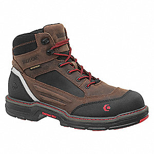 Boots,7,EW,Brown/Black,Composite,PR