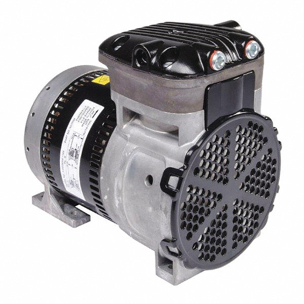 Gast 1 4 hp rocking piston vacuum pump 115 230vac 100 for Gast air motor distributors