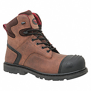 Work Boots,10-1/2,W,Brown,Composite,PR