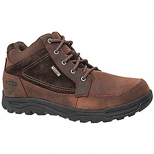 LowH Men's Work Boots, Steel Toe Type, Brown, Size 7M