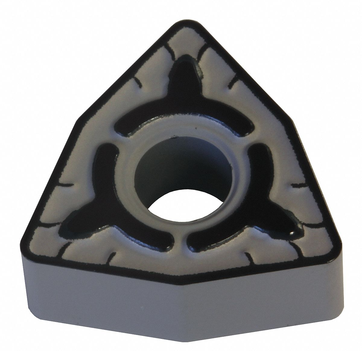 Turning Insert,  Chip-Breaker Code EGE,  Inscribed Circle 1/2 in,  Absotech Platinum