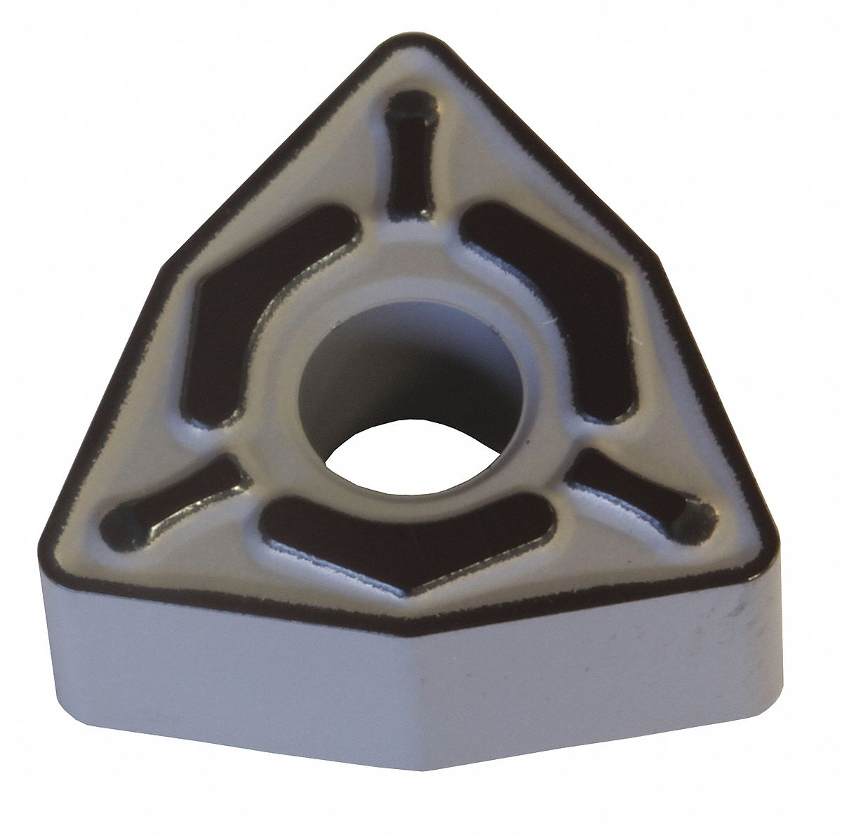 Turning Insert,  Chip-Breaker Code EGU,  Inscribed Circle 1/2 in,  Absotech Platinum