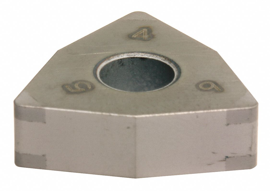 Turning Insert,  Inscribed Circle 1/2 in,  TiCN