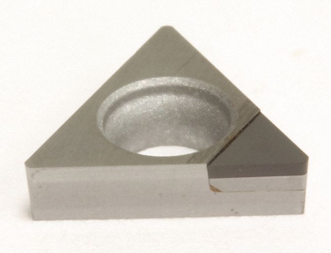 Triangle Turning Insert,  Inscribed Circle 5/8 in