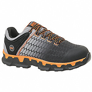 Athletic Shoe,  10,  M,  Men's,  Gray,  Alloy Toe Type,  1 PR
