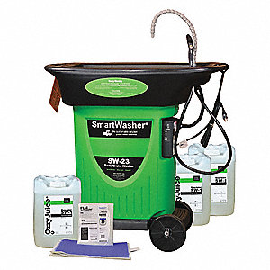 Mobile Parts Washer Kit,15 gal.