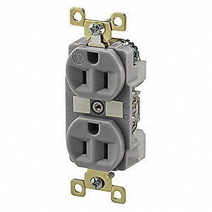 Receptacle,15A,125VAC,Isolated Ground