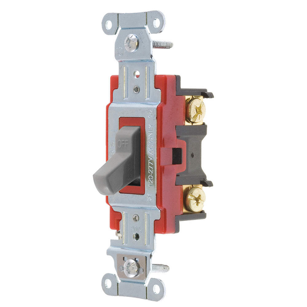 BRYANT Wall Switch, Switch Type: 2-Pole, Switch Function: Maintained ...