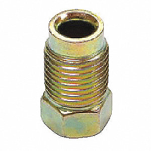 Nut,Inverted Flare,M10 x 1.0 Thread,PK4