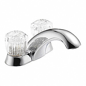 Delta Faucet Company Metal Bathroom Faucet Acrylic Handle Type No