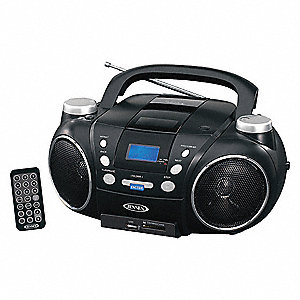 "CD Player,Blue,AC Power Source,6"" W"