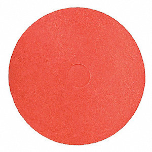 "Buffing Pad,Red,Size 16"",PK5"