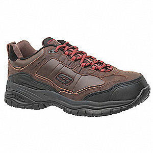 Work Shoes,11-1/2,D,Brown,Composite,PR