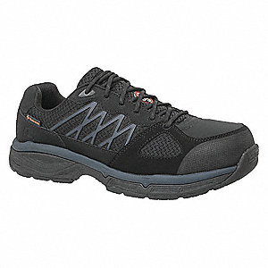Work Shoes,7,D,Black,Alloy,PR