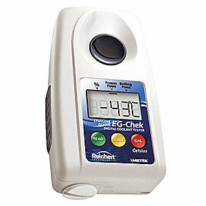 "3-29/32"" x 2-7/64"" x 1-7/64"" Hand Held Digital Refractometer"