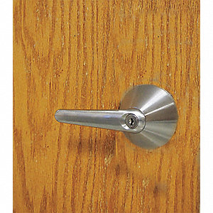 Door Lever Lockset,Cylindrical,Mech