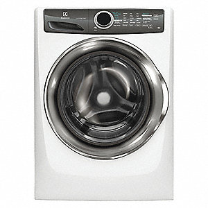 White Front Load Washer, Residential