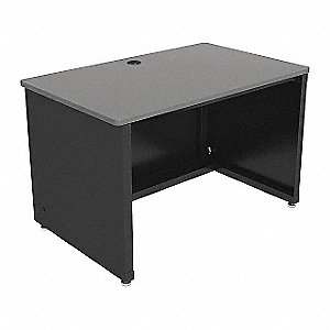 "Enclosed Desk, CD Series,  48"" W,  Gray Top"