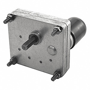 DC Gearmotor 12VDC, Nameplate RPM: 8.8, Max. Torque: 41.0 in.-lb., Enclosure: Totally Enclosed Nonve