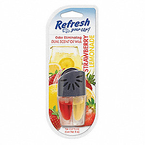 Air Freshener,Oil Wick,Red/Yellow