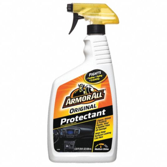 Protectant,  Trigger Spray,  28 oz,  Plastic Bottle,  Liquid,  White