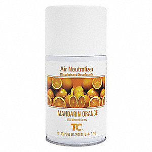 Air Freshener Refill, No Series, 168 days Refill Life, Mandarin Orange Fragrance