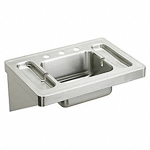 "28"" x 20"" x 7-1/2"" Lavatory Sink, With 7-1/2"" Bowl Depth"