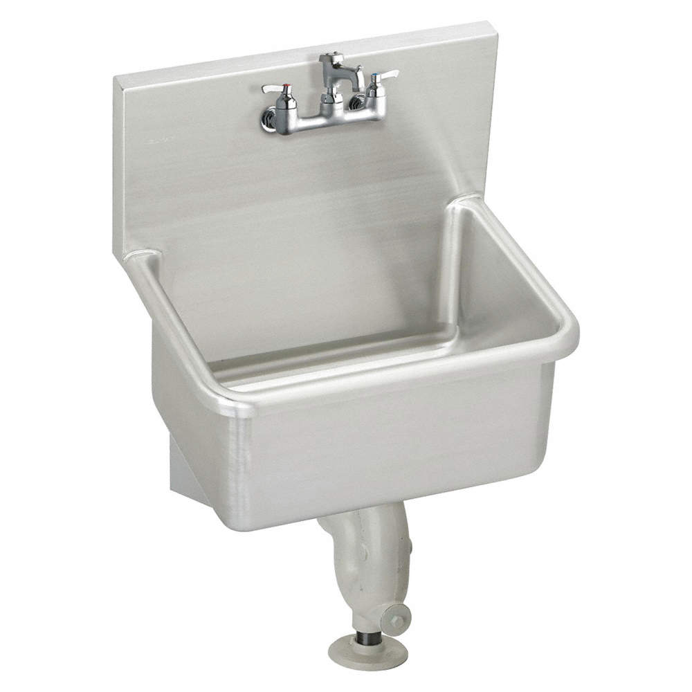 Elkay Wall Mount Utility Sink 1 Bowl
