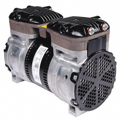 1/2 hp HP Piston Air Compressor, 115/230V AC