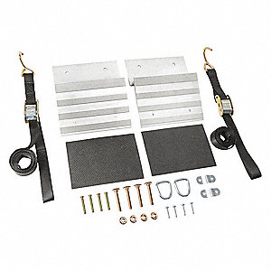 Ramp Kit,Portable,700 lb Capacity,PK2