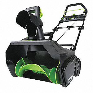Snow Thrower,Electric,Clearing Path 20""