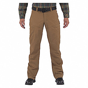 "Apex Pants. Size: 35"" x 36"", Fits Waist Size: 35"", Inseam: 36"", Battle Brown"