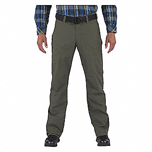 "Apex Pants. Size: 36"" x 36"", Fits Waist Size: 36"", Inseam: 36"", TDU Green"