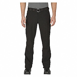 "Traverse Pants,Size 38"" x 30"",Black"